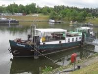 Bootsüberführung